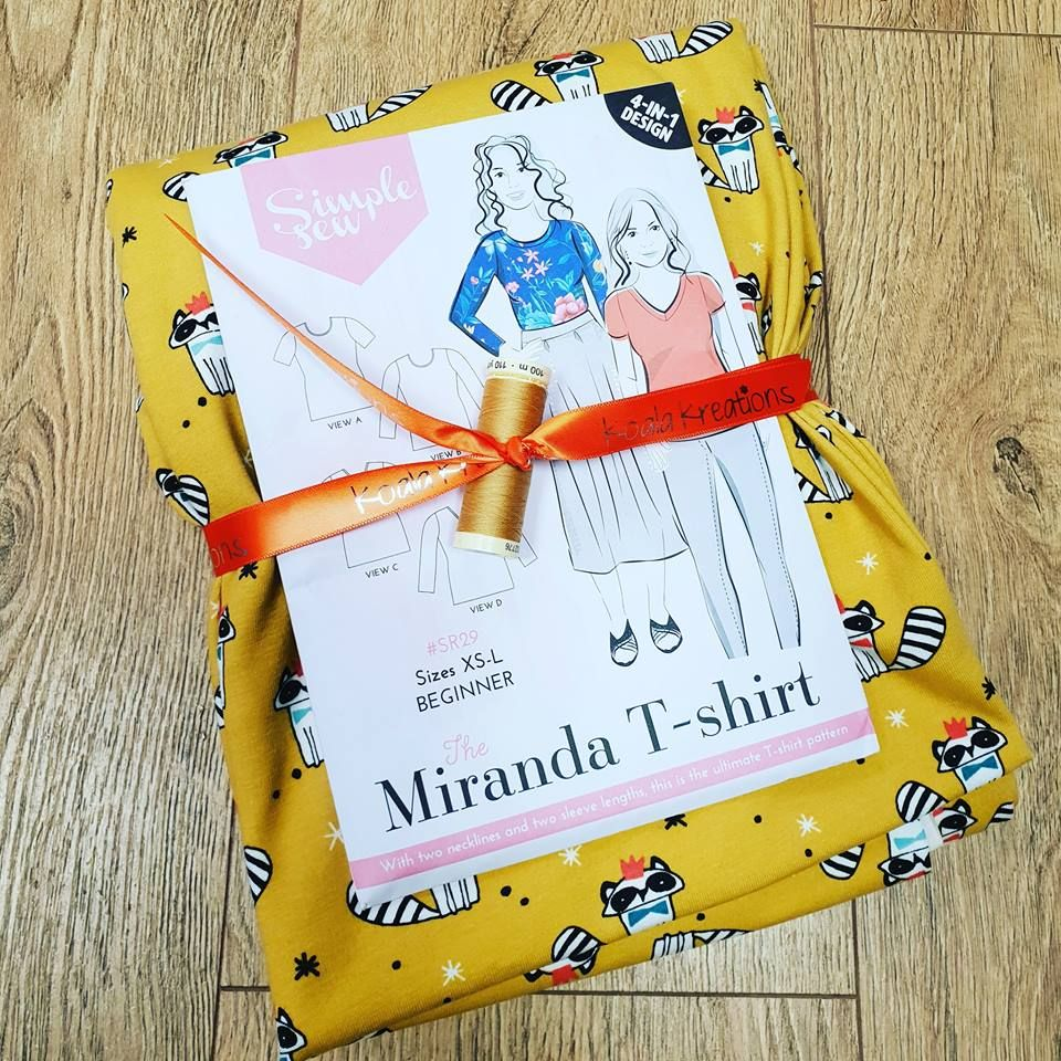 The Miranda T-Shirt Sewing Kit