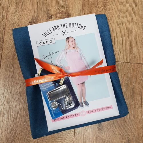 The Cleo Dungaree Dress Sewing Kit
