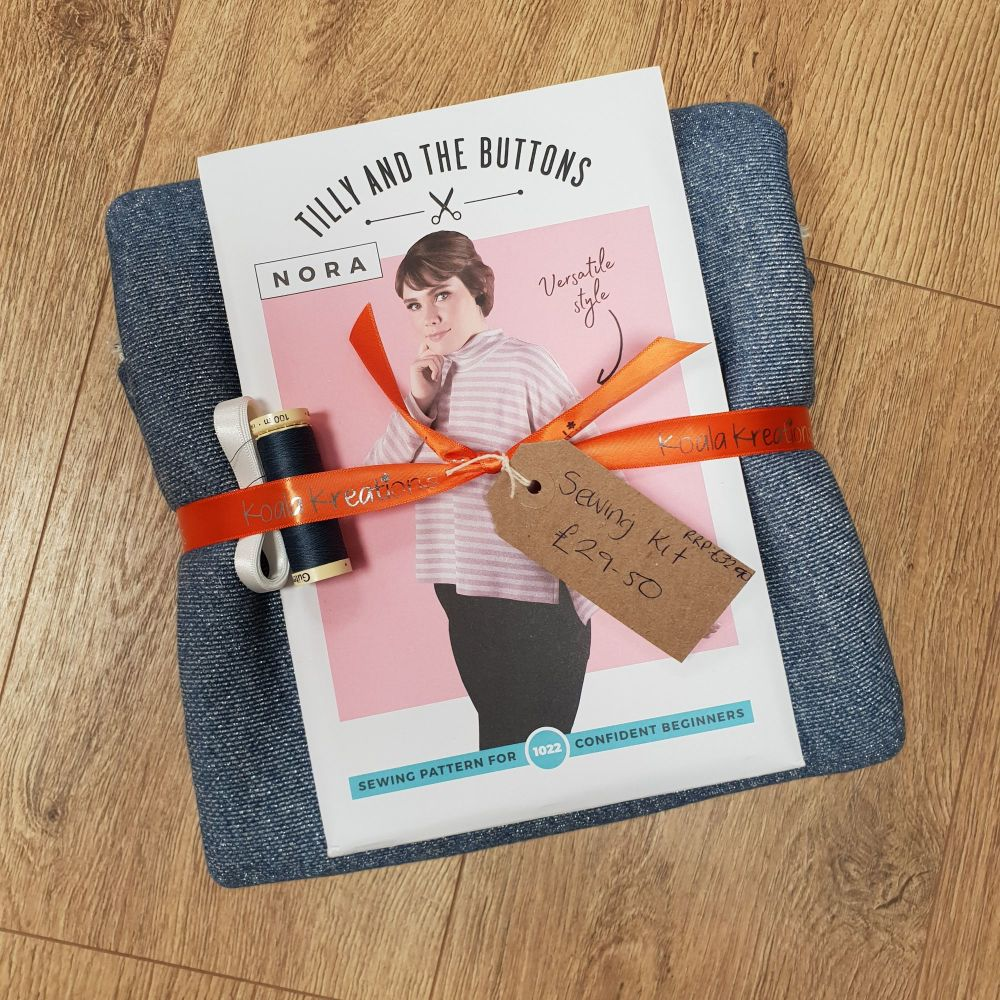 The Nora Sweater Sewing Kit