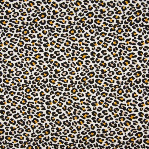 Cotton Jersey Leopard print