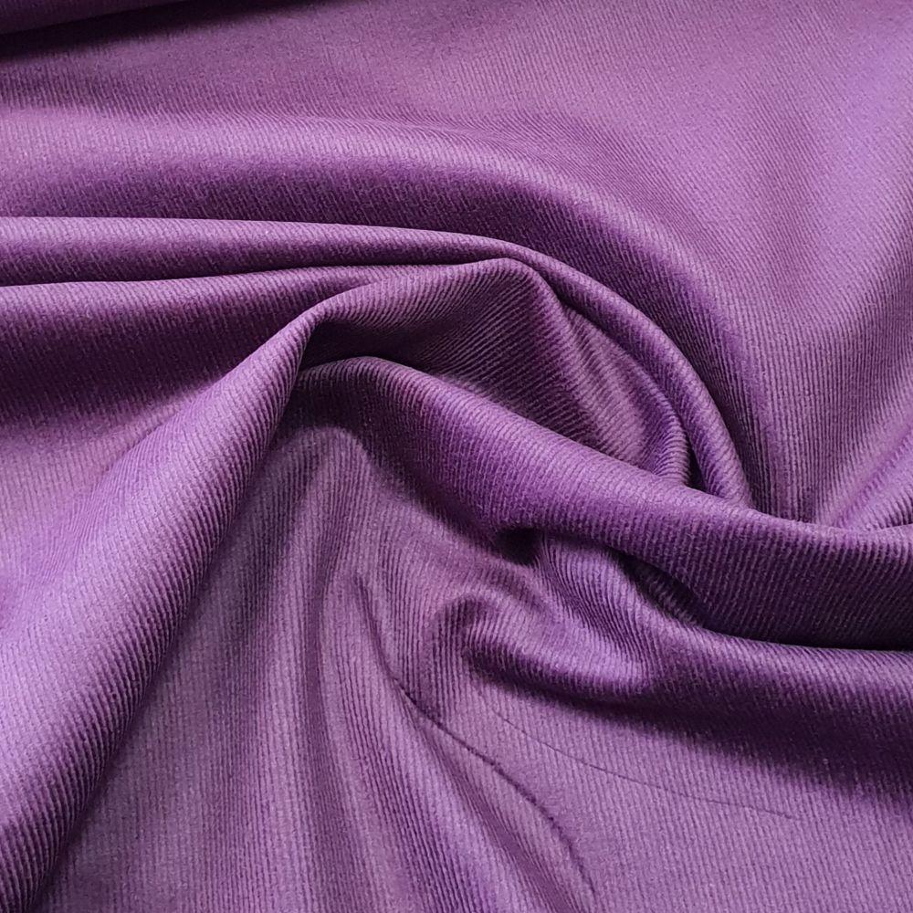Stretch Corduroy Purple