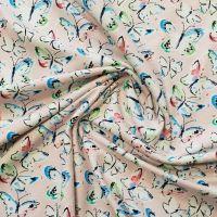 Cotton Jersey Butterflies