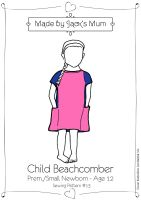 MBJM Beachcomber T-Shirt/Tunic Pattern Age Newborn to 12 Years