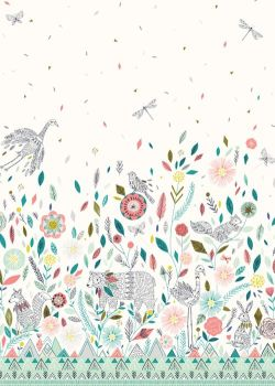 Dashwood Studio Boho Meadow Panel