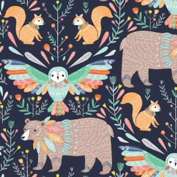 Dashwood Studio Boho Meadow Bears