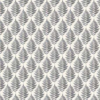 Fern Garden Geo Grey