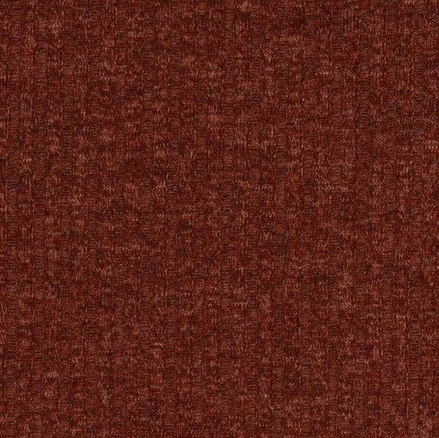 Stretch Knit Fabric Burnt Orange