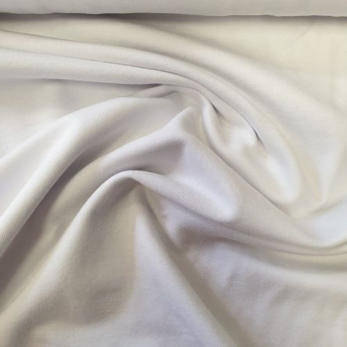 Cotton Jersey Fabric White