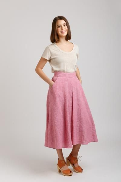 Megan Neilsen Tania Culottes Sewing Pattern