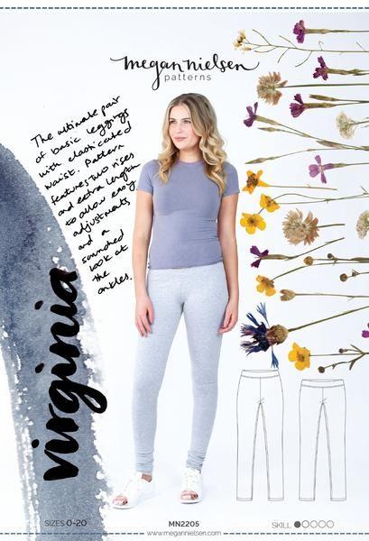 Megan Nielsen Virginia Leggings Sewing Pattern