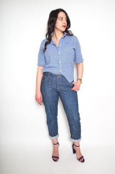 Closet Case Morgan Boyfriend Jeans Sewing Pattern