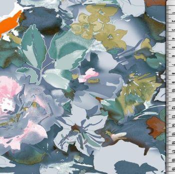Cotton Viscose Mix Florals