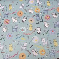 Laminate Fabric Cats