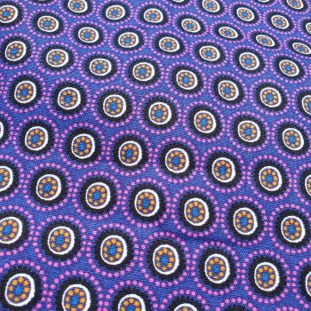 Cotton Fabric Purple