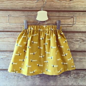 Simple Child's Skirt Workshop