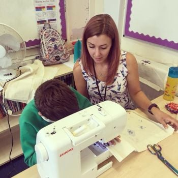 One To One Sewing Lesson