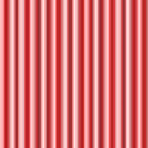 Makower Festive Christmas Pinstripe Red Cotton Fabric