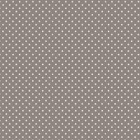 Makower Polka Dots Steal Grey Cotton Fabric