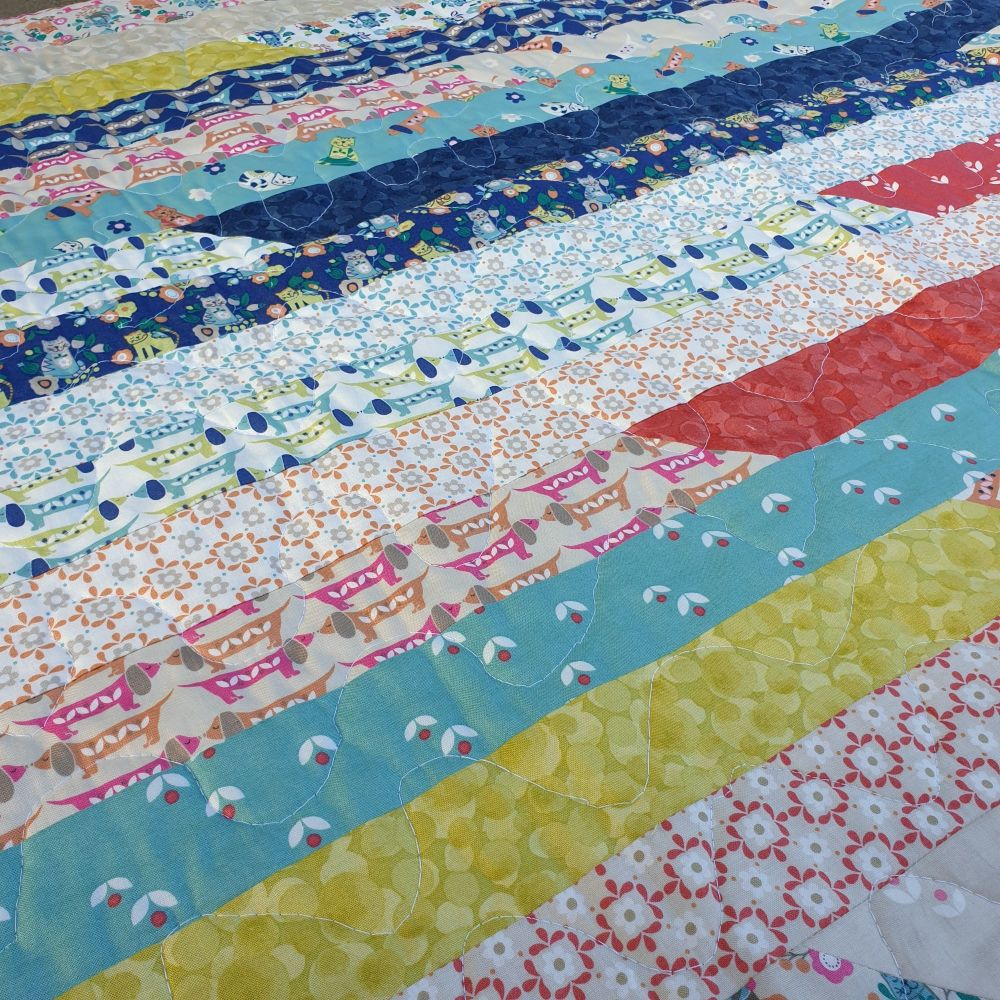 Jelly Roll Quilt Workshop