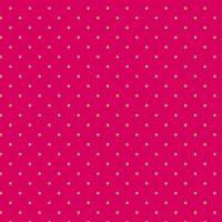 Makower Sweet Shoppe Too Ruby Dot Cotton Fabric