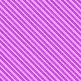 Makower Sweet Shoppe Too Grape Candy Stripe Cotton Fabric