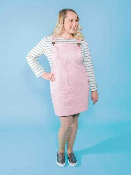 Cleo Pinafore Dungaree Dress Workshop