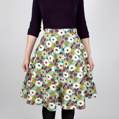 Sewaholic Hollyburn Skirt Workshop
