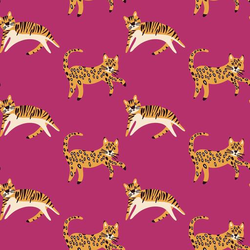 Leopard Cotton Poplin