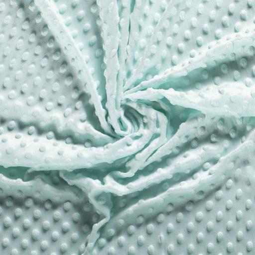 Mint Minky Cuddle Fleece Fabric
