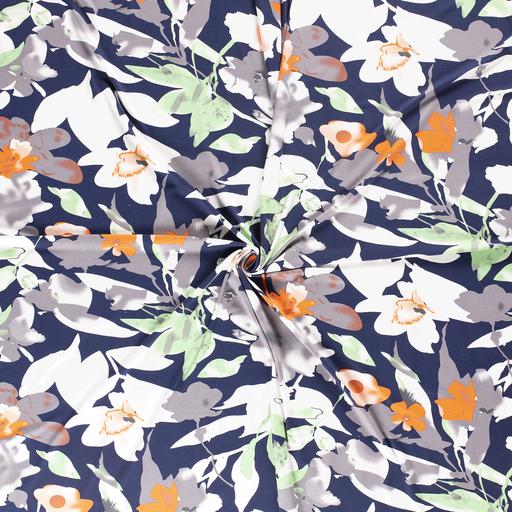 Viscose Jersey Florals Fabric