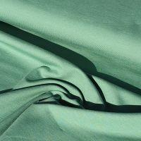 Plain Green Organic Cotton Jersey Fabric