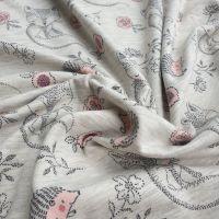 Foxy Cotton Jersey Fabric