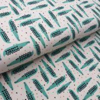 Crocodile Cotton Jersey Fabric