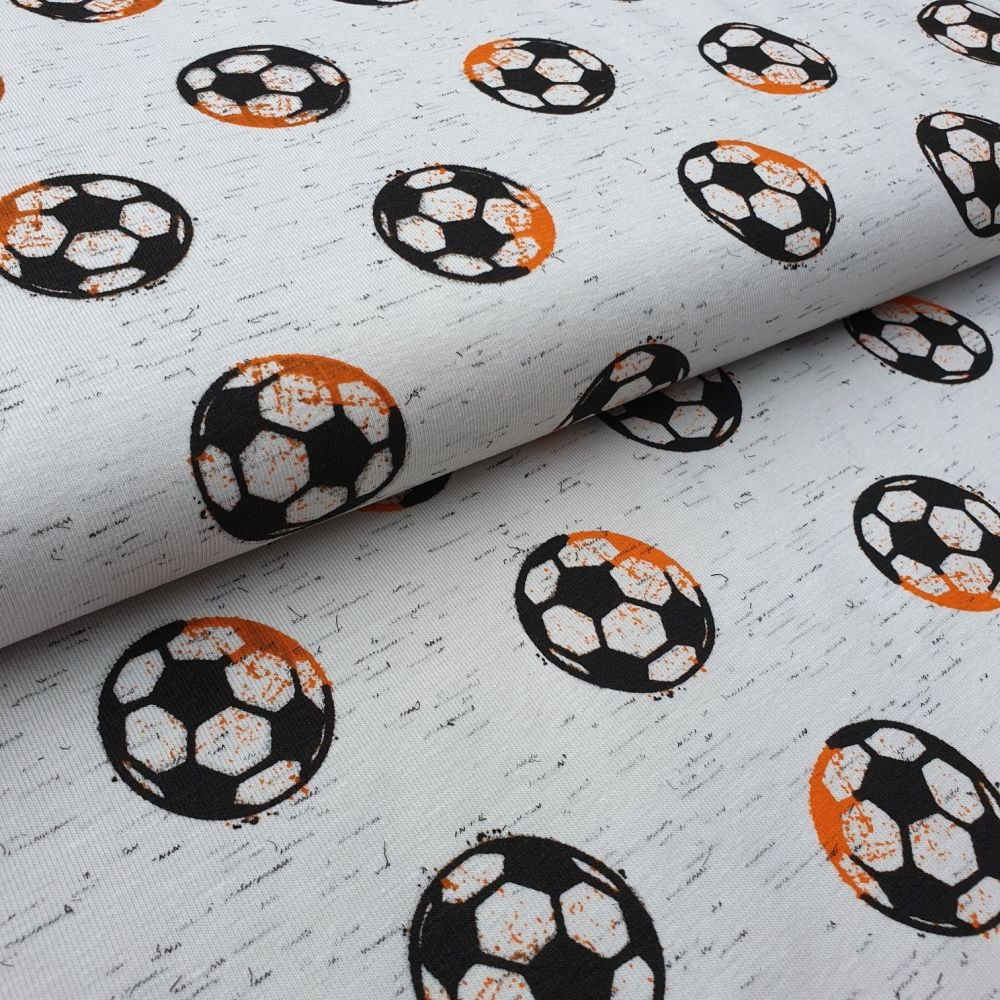Football Cotton Jersey Fabric