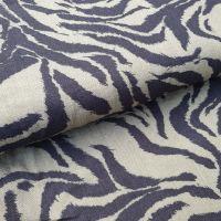 Khaki & Black Rayon Fabric