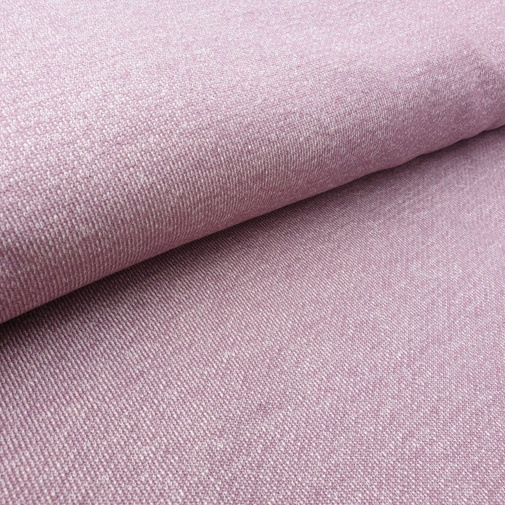 Pale Pink Knit French Terry Fabric