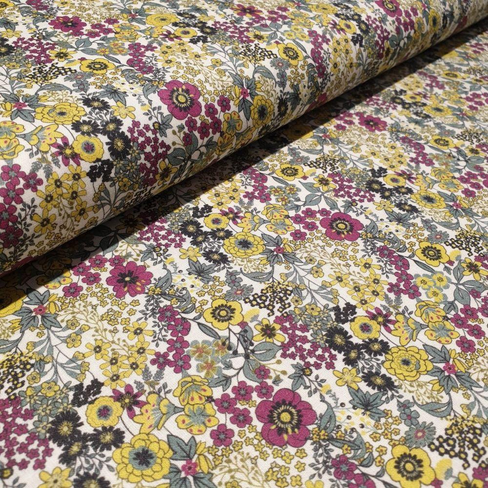Florals 2 Cotton Lawn fabric