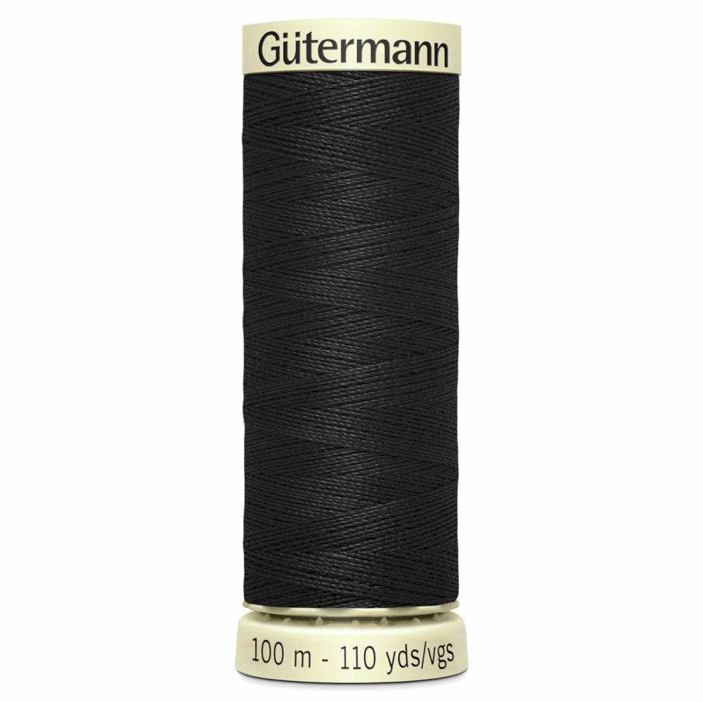 Sew All Polyester Sewing Thread Colour 000 Black