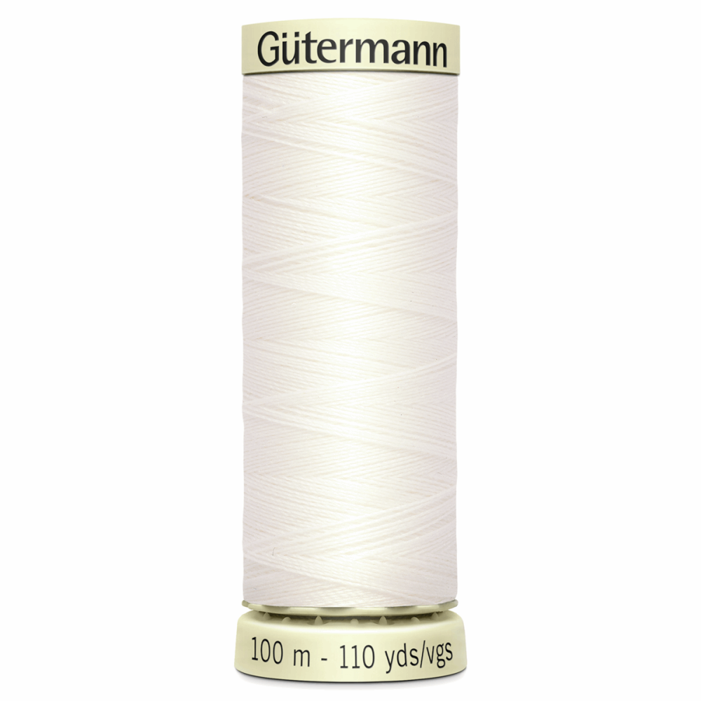 Sew All Polyester Sewing Thread Colour 111 Bridal White