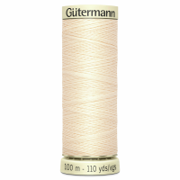 Sew All Polyester Sewing Thread Colour 414 Cream