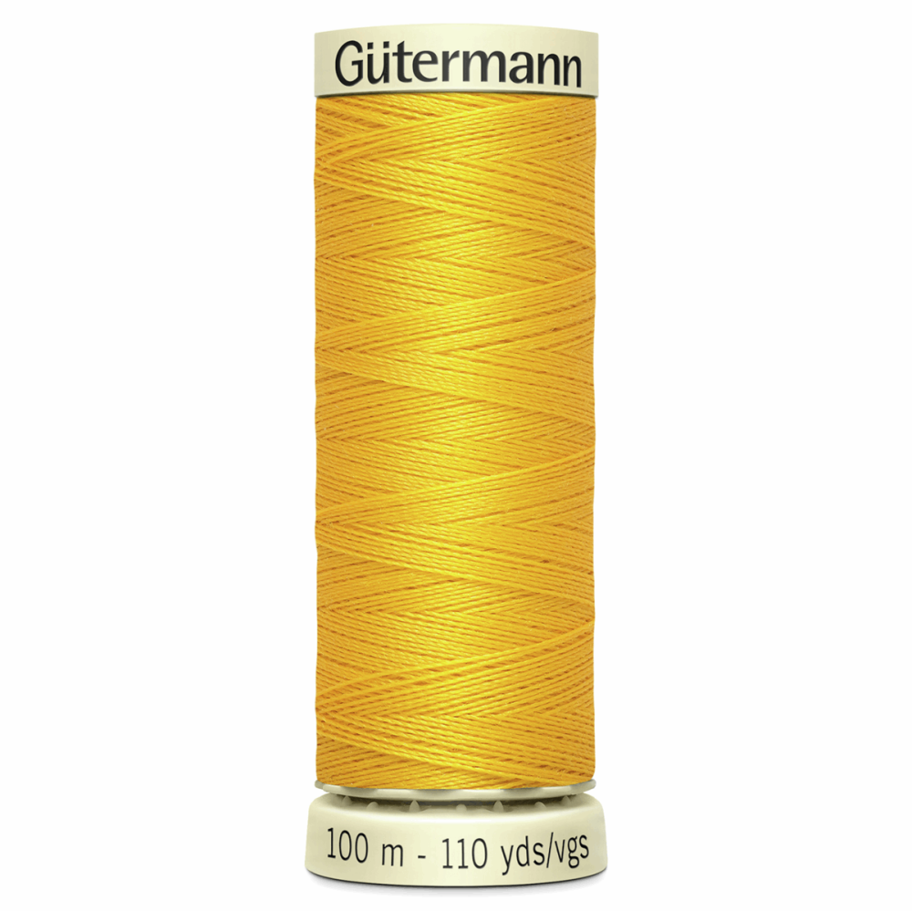 Sew All Polyester Sewing Thread Colour 106 Golden Yellow