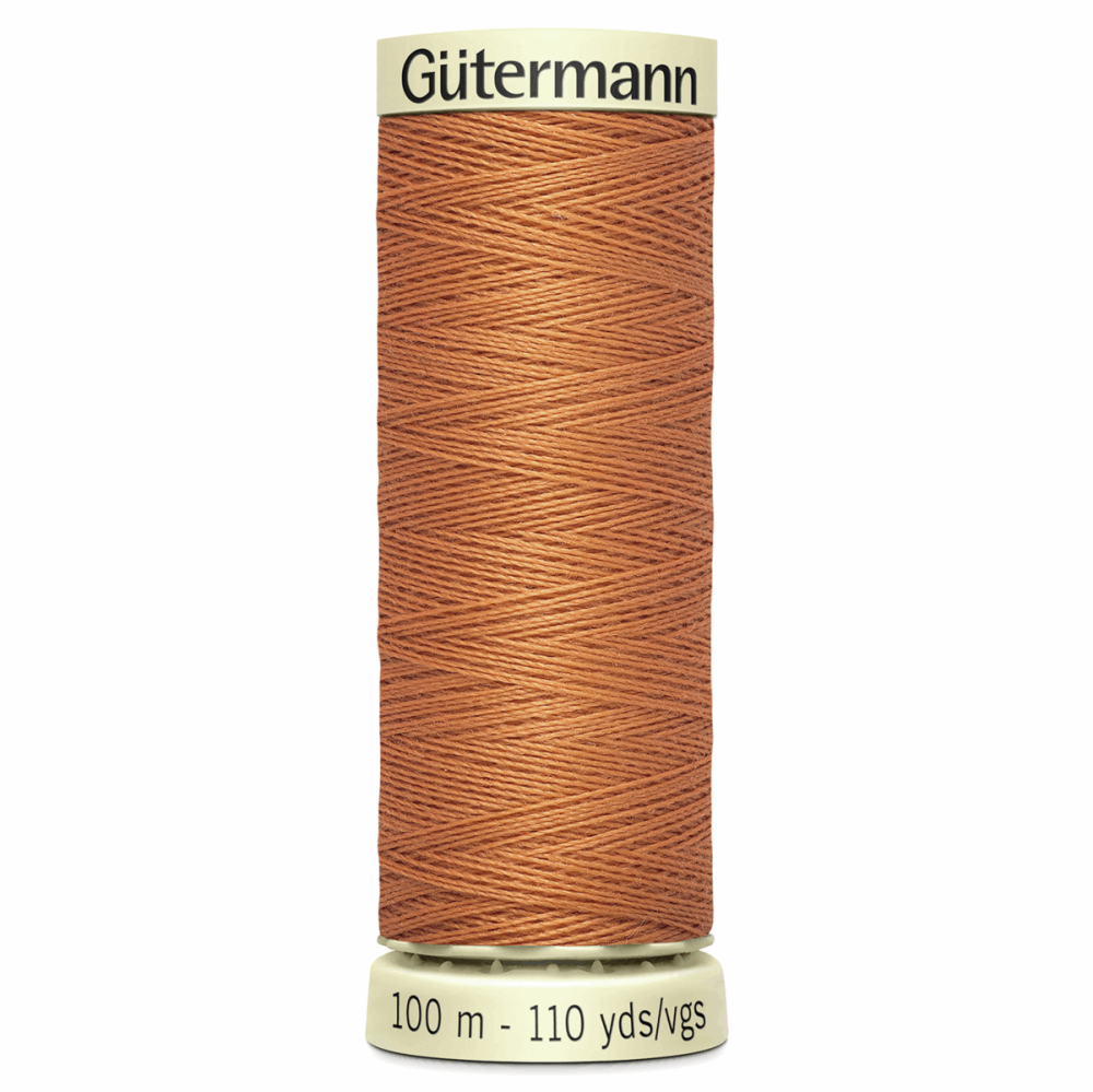 Sew All Polyester Sewing Thread Colour 612 Burnt Sienna