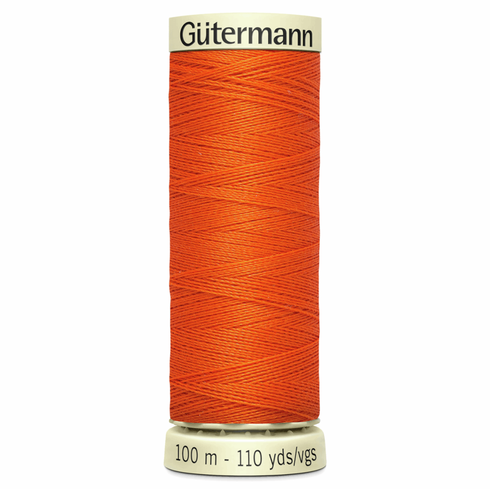Sew All Polyester Sewing Thread Colour 351 Bright Orange
