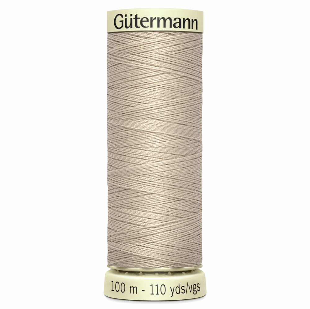 Sew All Polyester Sewing Thread Colour 722 Beige Bone