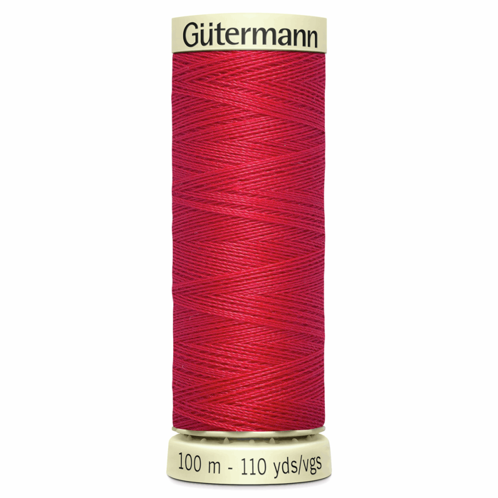 Sew All Polyester Sewing Thread Colour 156 Crimson Red