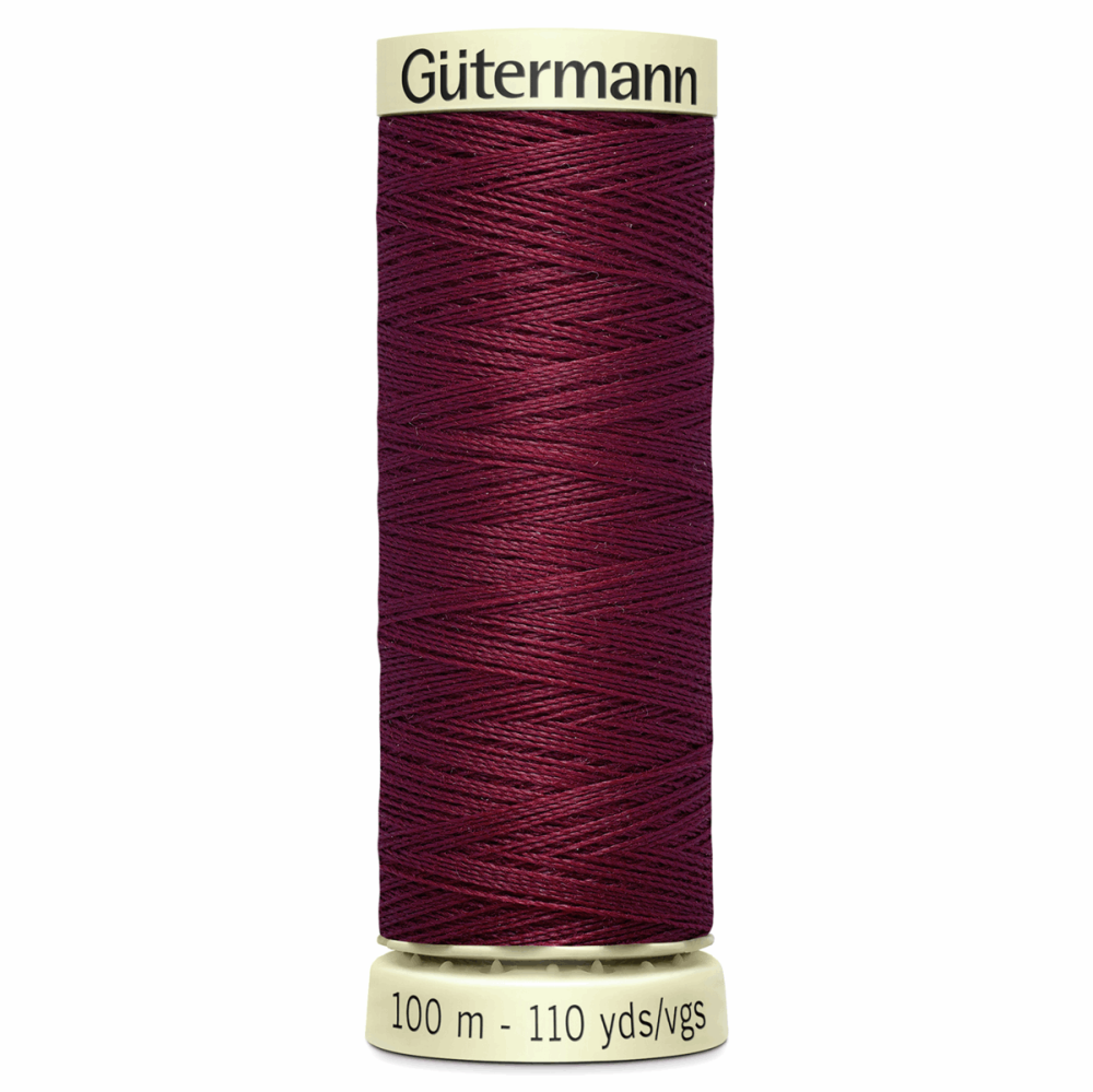 Sew All Polyester Sewing Thread Colour 368 Burgundy