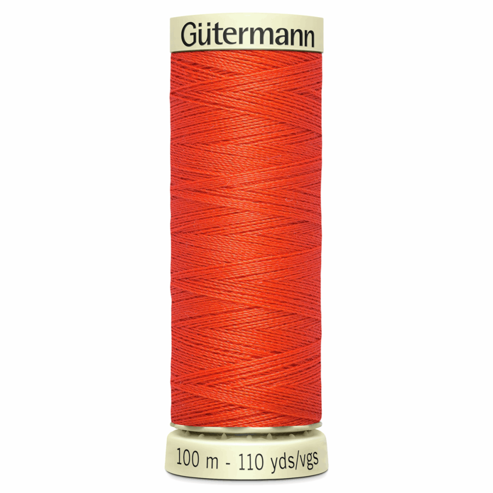 Sew All Polyester Sewing Thread Colour 155 Vivid Orange