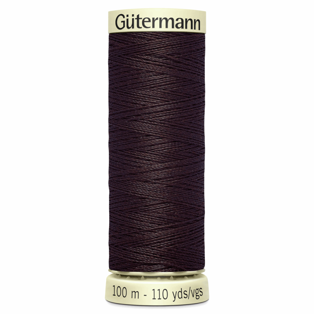 Sew All Polyester Sewing Thread Colour 23 Warm Brown