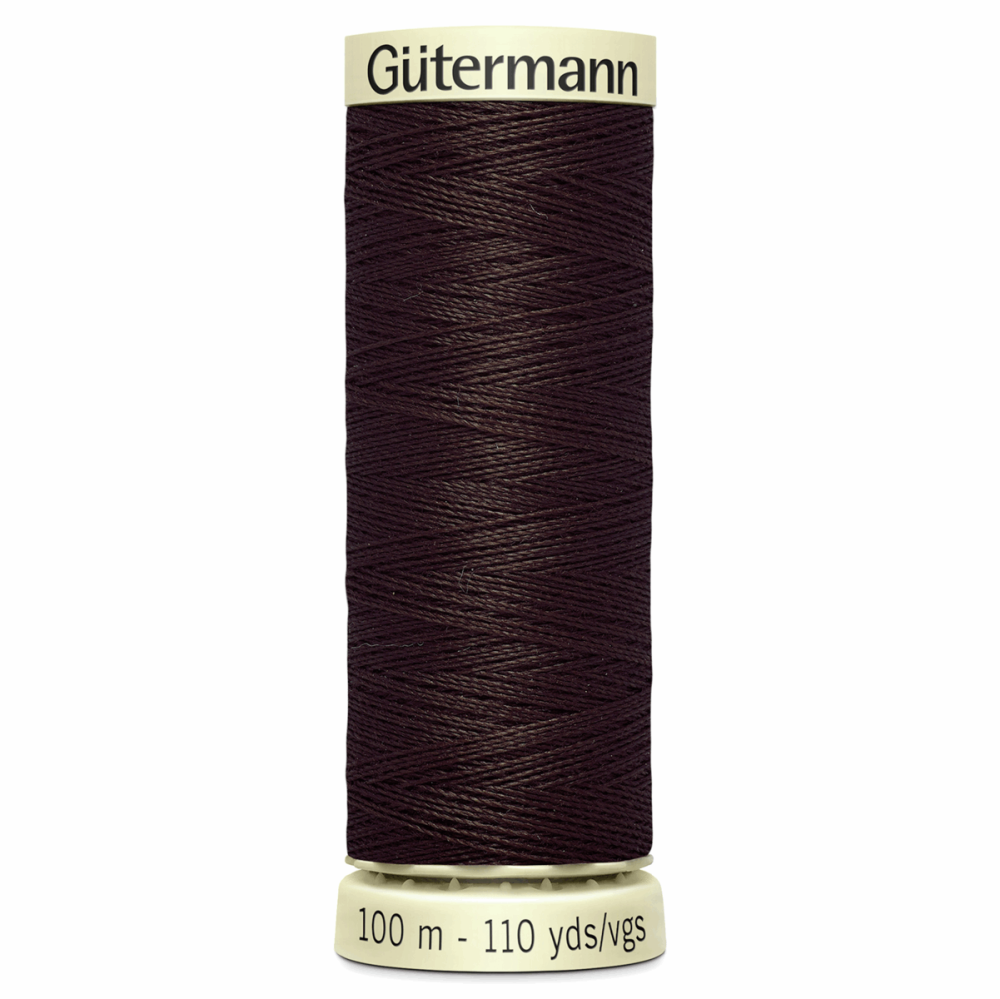 Sew All Polyester Sewing Thread Colour 696 Mahogany