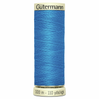Sew All Polyester Sewing Thread Colour 386 Bright Blue